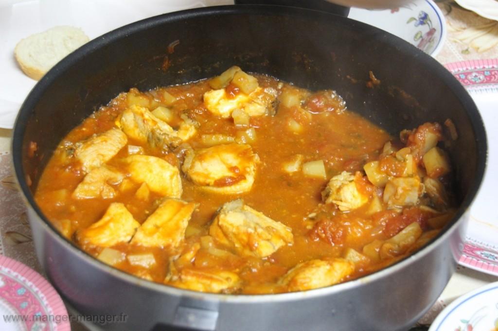 Soupe de poissons mediterraneenne