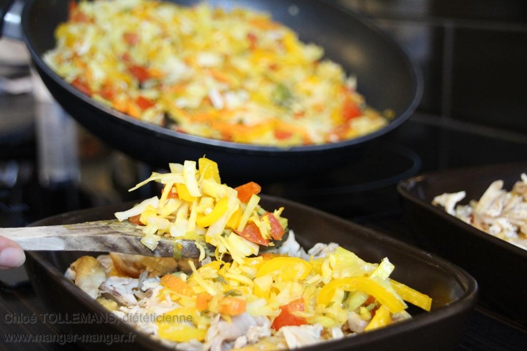 Dieteticienne Toulouse - Gratin legumes lentilles corail