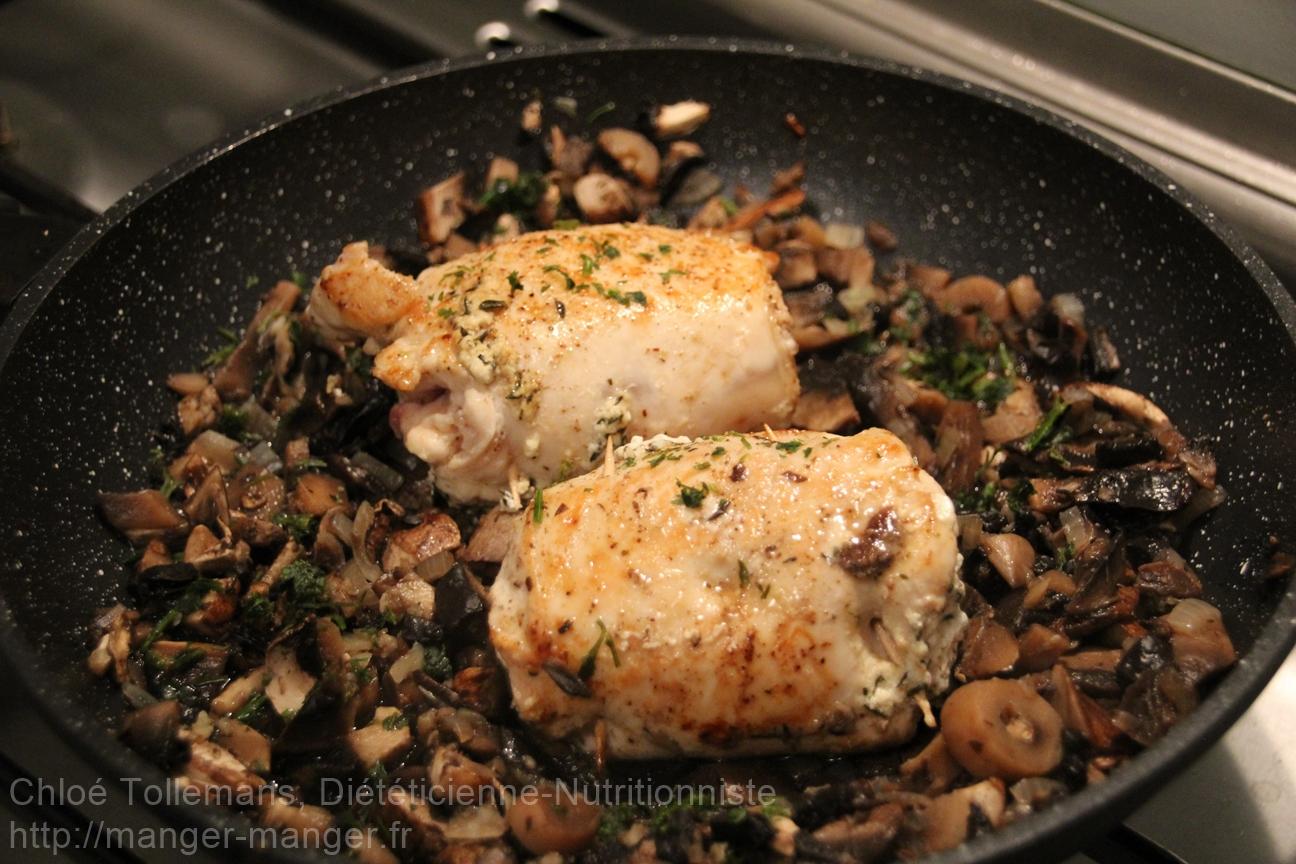 Dieteticienne Toulouse - Ballotins poulet petit suisse