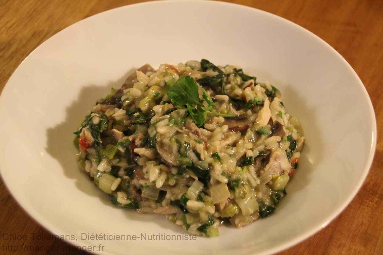 Dieteticienne Toulouse - Risotto hivernal