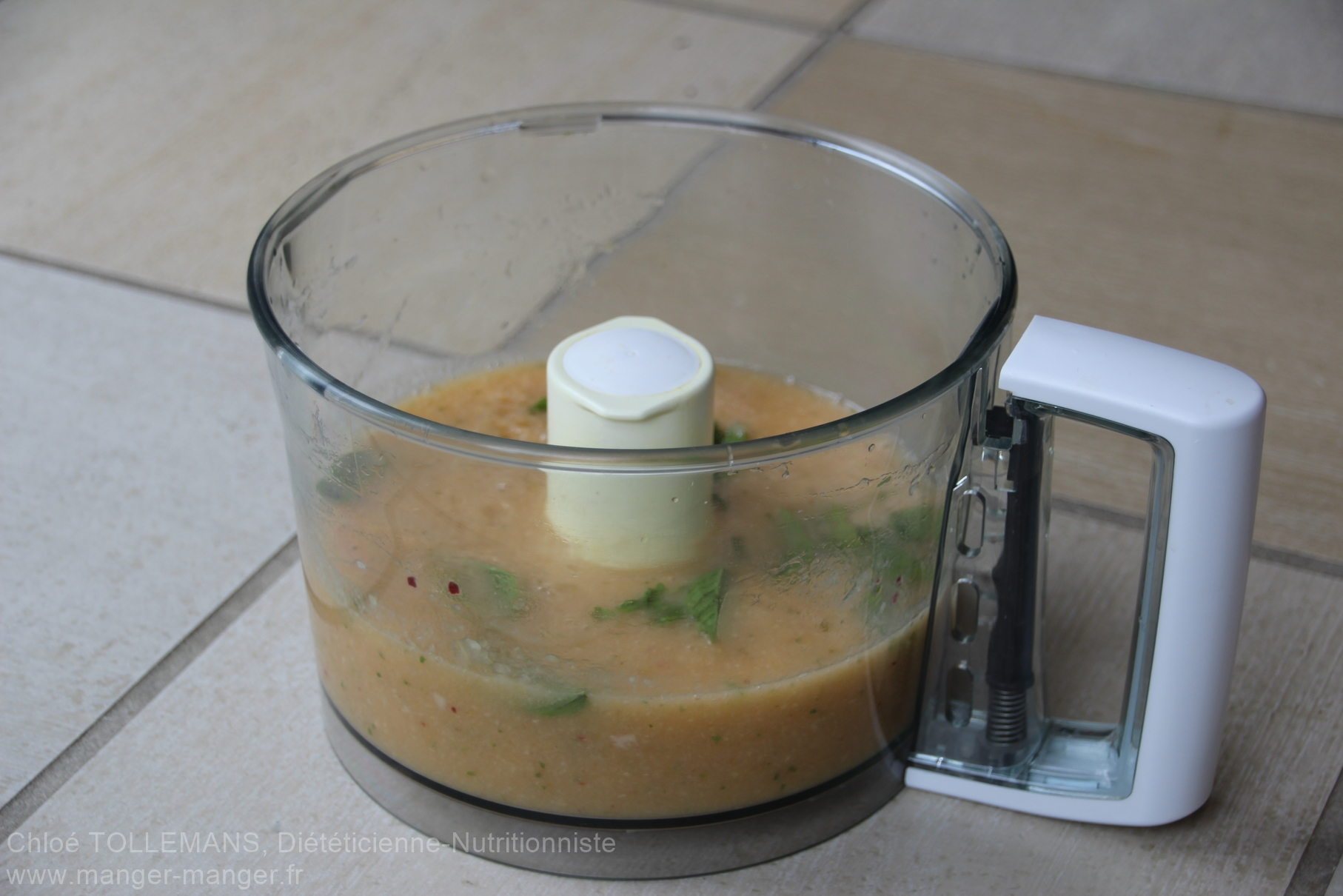 Dieteticienne Toulouse - Glace eau peches